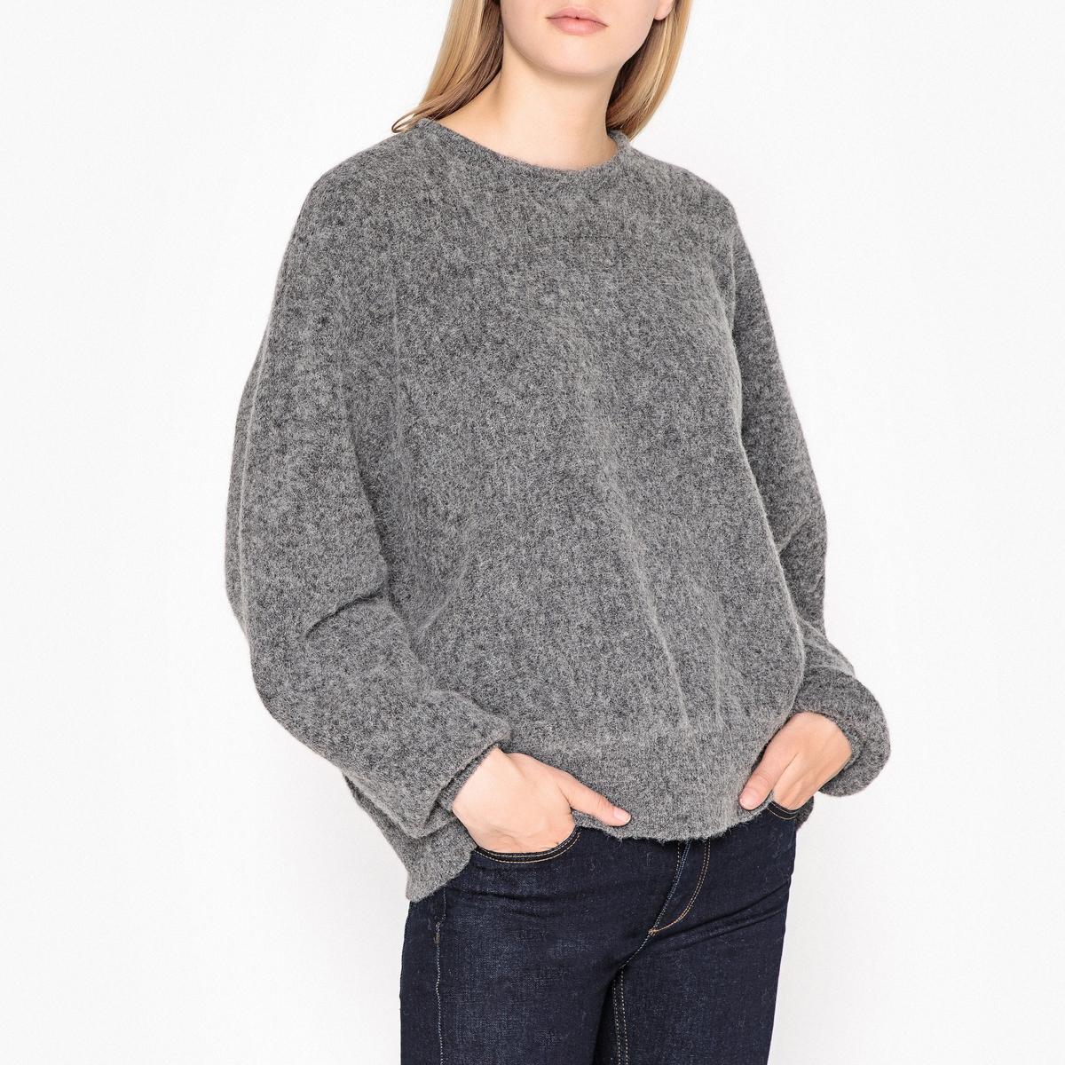 Пуловер трикотажный с вырезом-лодочкой HANAPARK цены онлайн