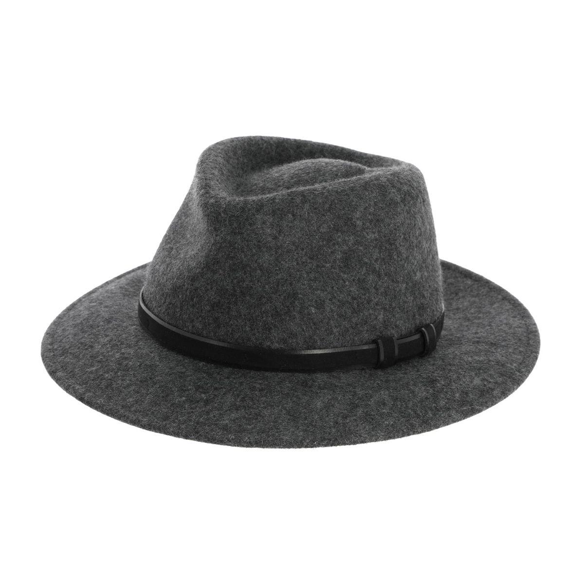 Chapeau en laine imperméabilisé
