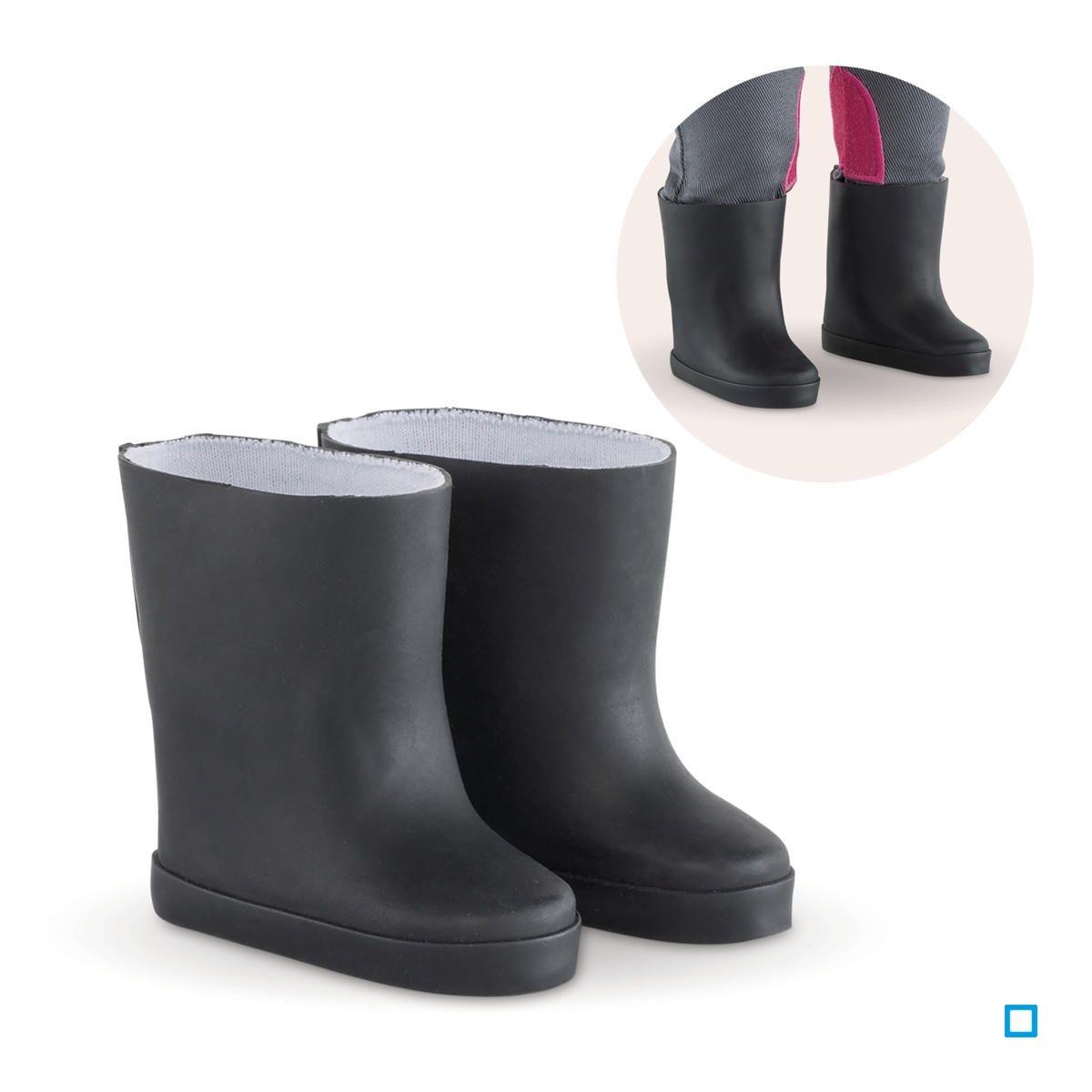 Bottes noires pour poupée ma Corolle - CORFCL58