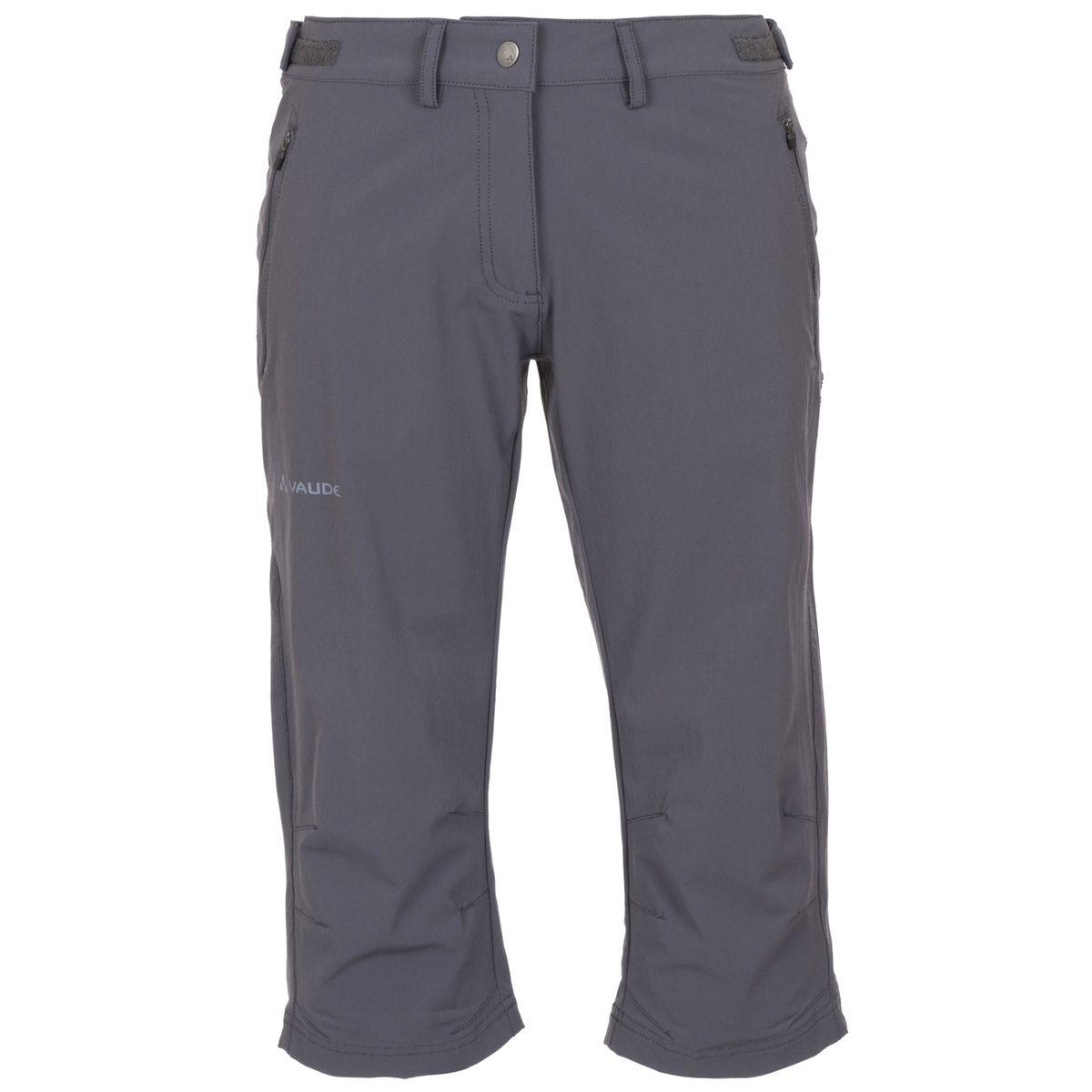 Farley II - Short Femme - Stretch gris
