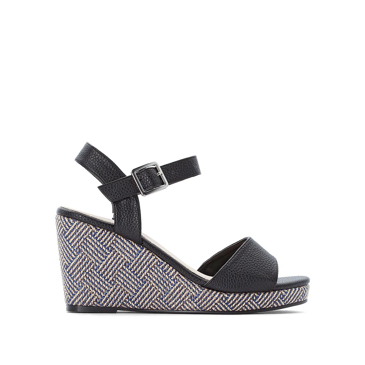 Sandálias compensadas, especial pés largos, do 38 ao 45