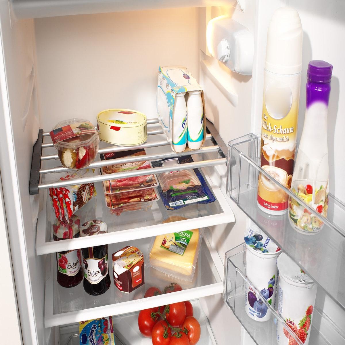 Этажерка раздвижная для холодильника, Aréglo ручка для холодильника либхер
