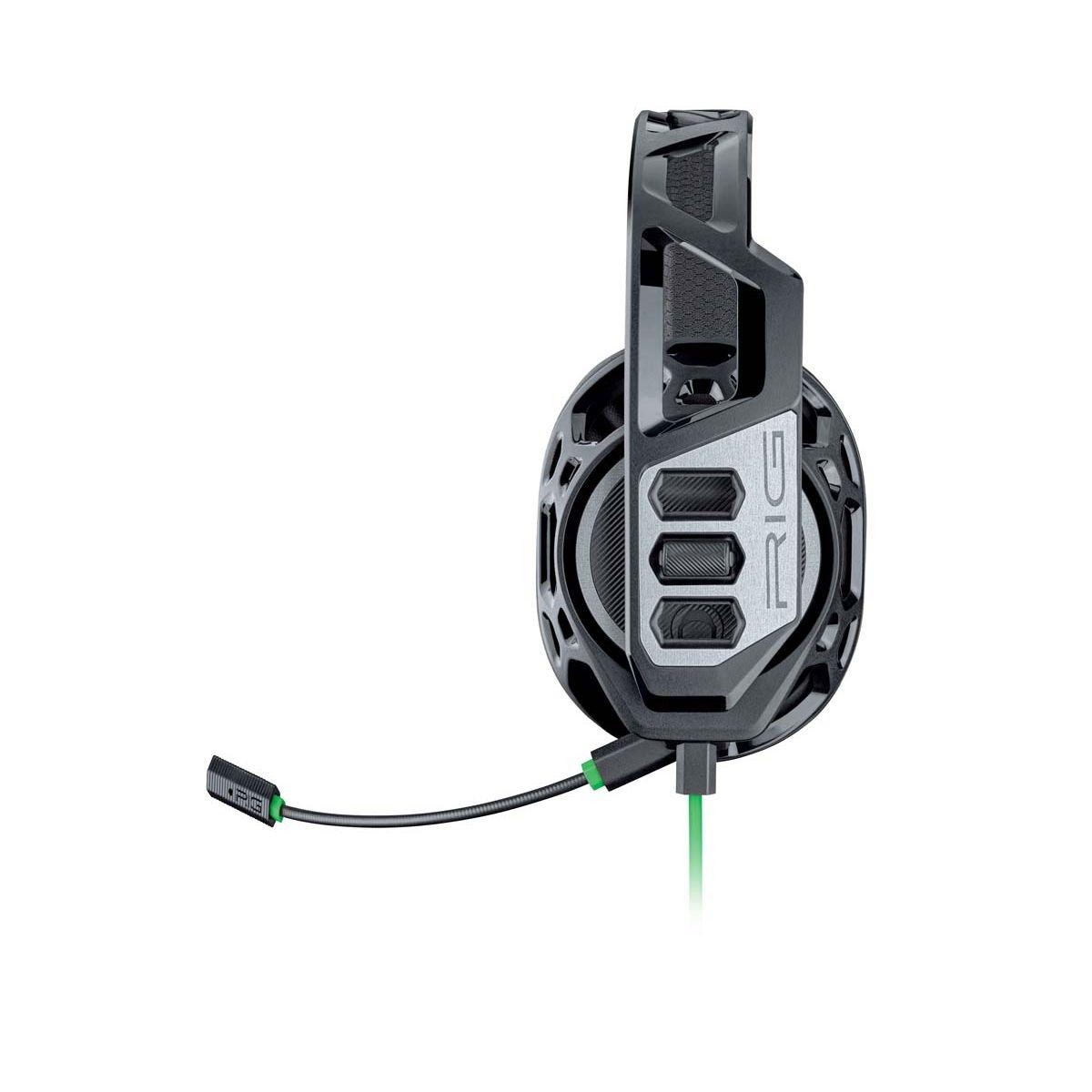 Casque Plantronics RIG 100HX. Casque de chat filaire licencié Microsoft pour Xbox One?. Design Exosquelette