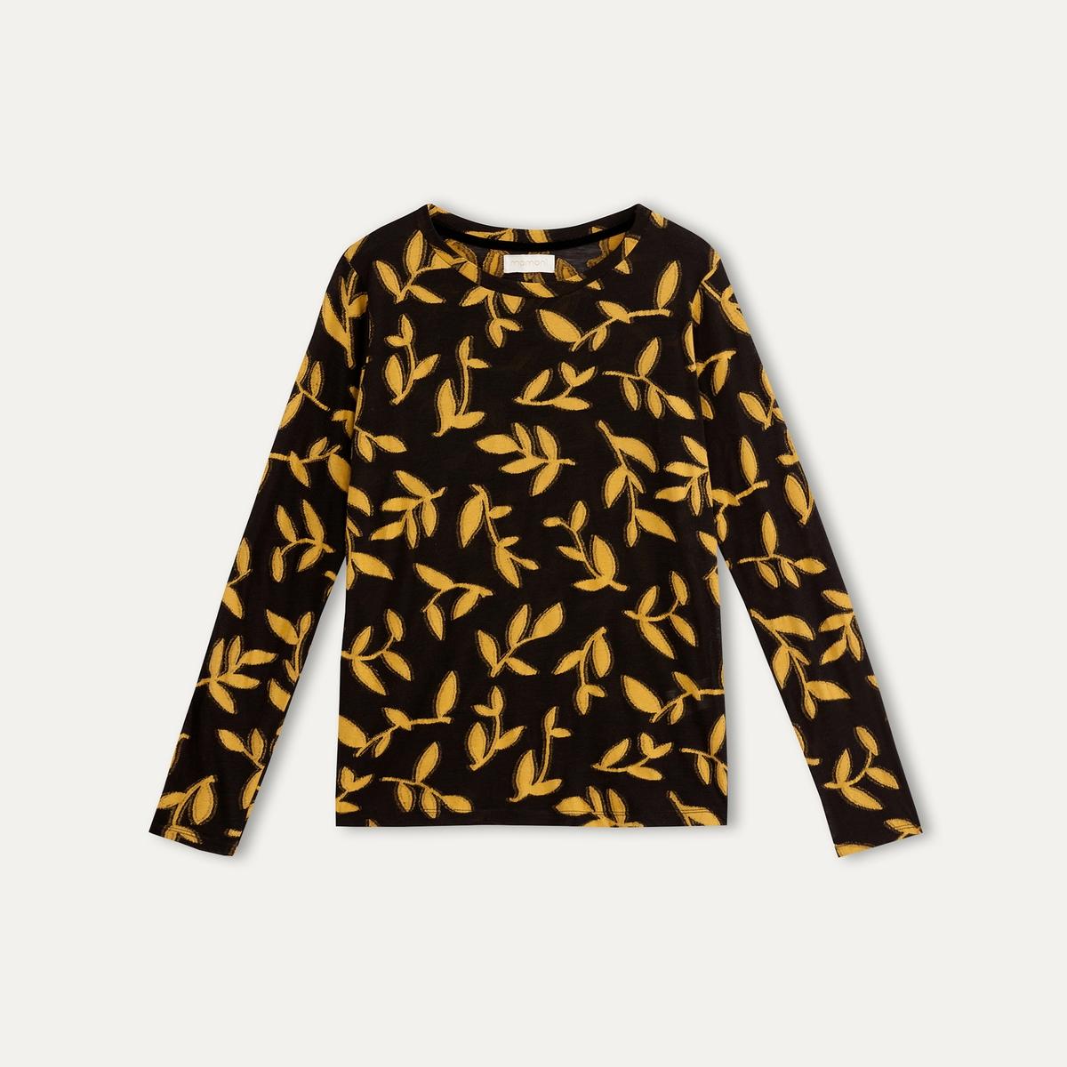 Пуловер REBECCAСостав и описание :Материал : 50% шерсти, 50% вискозыМарка : MOMONI<br><br>Цвет: черный/ желтый