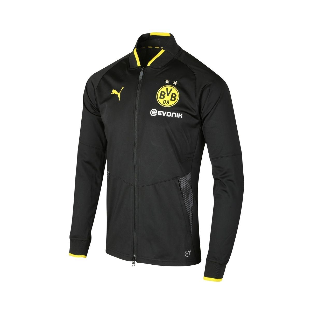 Veste Borussia Dortmund Stadium Noir Junior