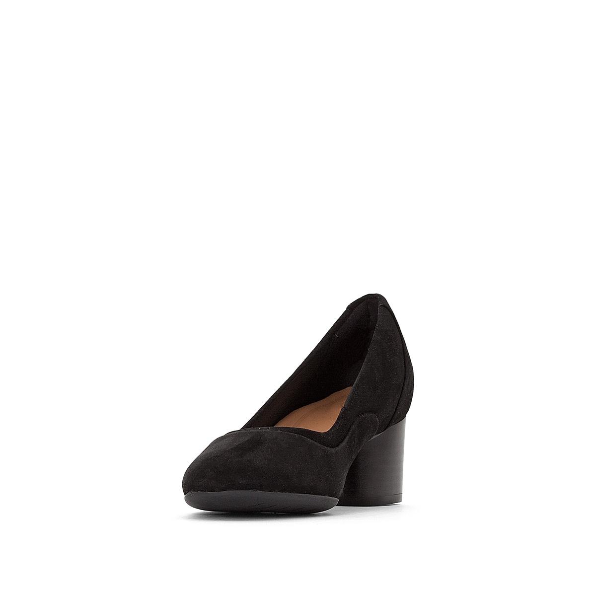 Imagen secundaria de producto de Zapatos de piel aterciopelada con tacón Un Cosmo S - Clarks