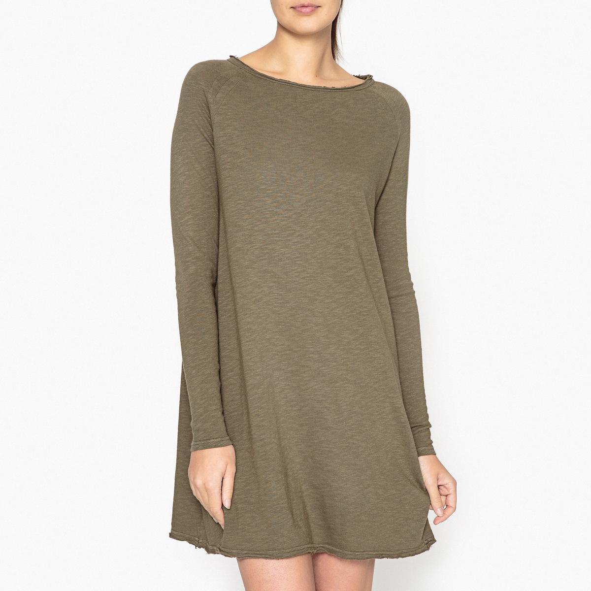 Платье с длинными рукавами и воротником-лодочкой SONOMA smiths american рубашка с длинными рукавами