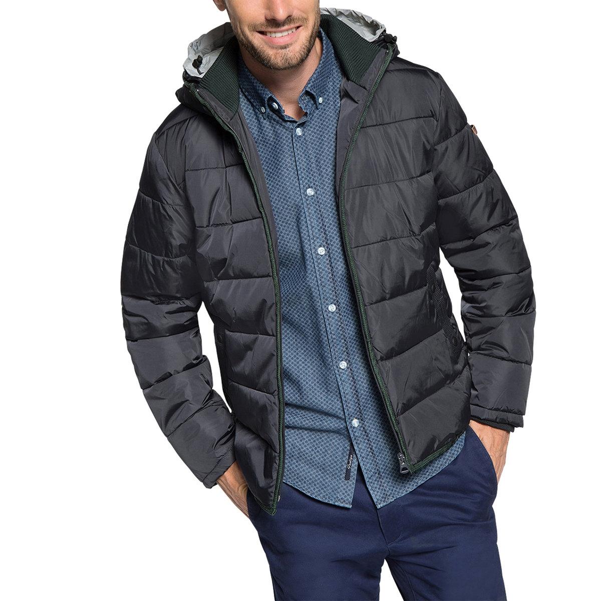 Стеганая куртка с капюшоном от La Redoute