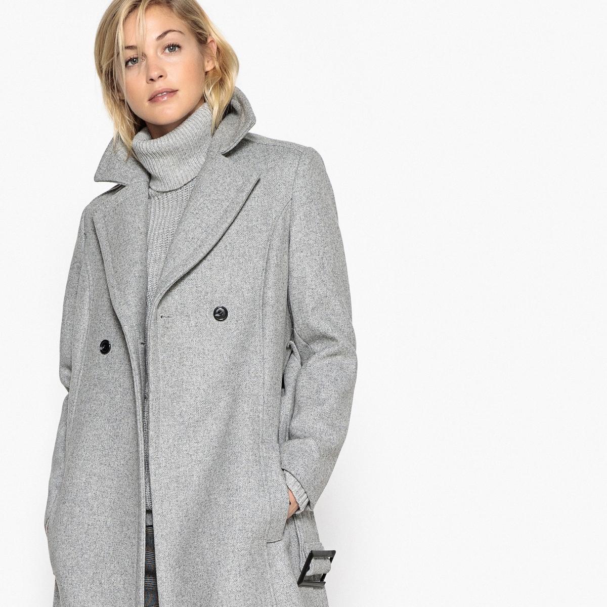 Пальто длинное с поясомОписание:Это пальто приталенного покроя  с широким ремешком и красивой длиной невероятно элегантно. Идеальное длинное пальто!Детали •  Длина : удлиненная модель •  Шалевый воротник • Застежка на пуговицыСостав и уход •  50% шерсти, 50% других волокон •  Подкладка : 100% полиэстер • Не стирать •  Деликатная чистка/без отбеливателей •  Не использовать барабанную сушку  •  Низкая температура глажки •  Длина : 120 см<br><br>Цвет: серый,темно-синий<br>Размер: 36 (FR) - 42 (RUS).50 (FR) - 56 (RUS).42 (FR) - 48 (RUS).50 (FR) - 56 (RUS).48 (FR) - 54 (RUS).48 (FR) - 54 (RUS).46 (FR) - 52 (RUS).42 (FR) - 48 (RUS).38 (FR) - 44 (RUS).36 (FR) - 42 (RUS).34 (FR) - 40 (RUS).40 (FR) - 46 (RUS)