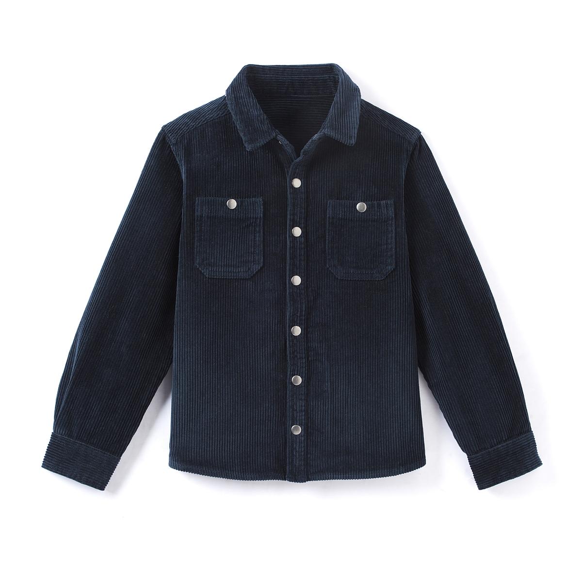 Рубашка из велюра 3-12 лет
