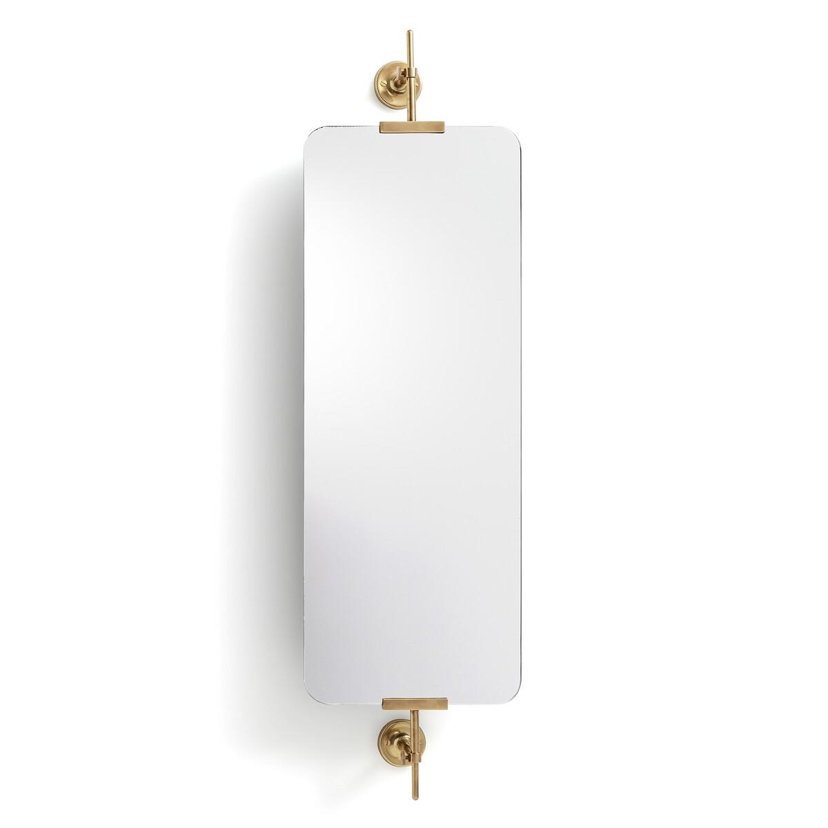 Зеркало La Redoute Прямоугольное с поворотом В1065 см Cassandre единый размер желтый зеркало la redoute прямоугольное д x в см barbier единый размер другие