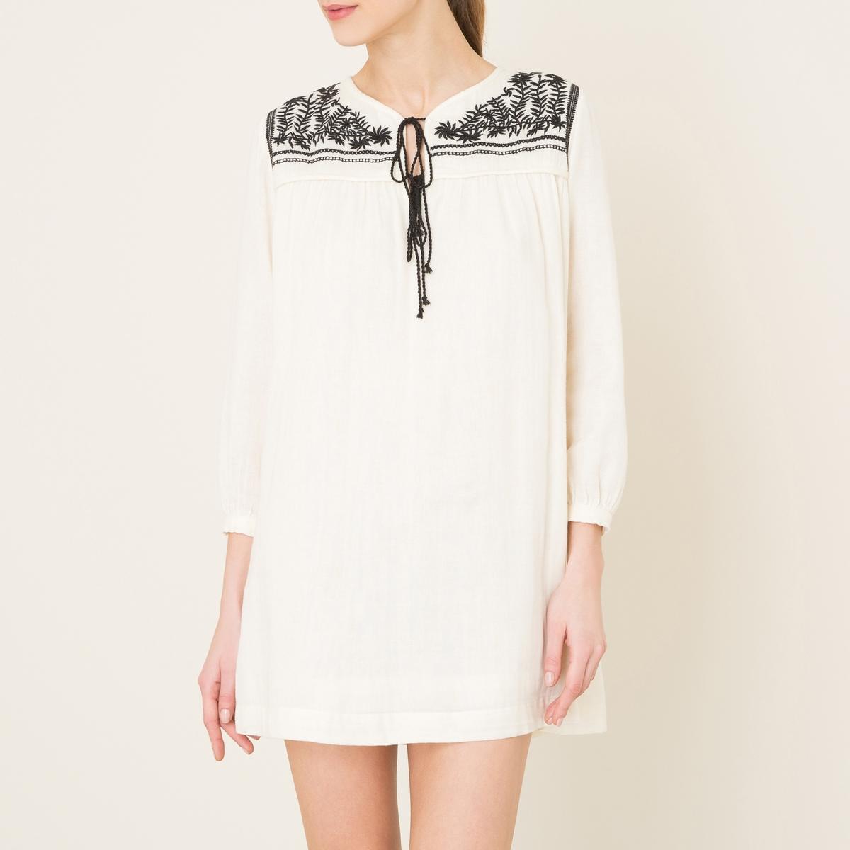 Платье с вышивкой VIOLETTE платье с вышивкой