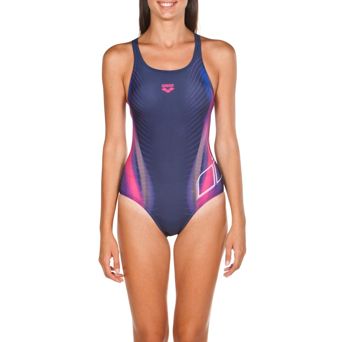 Imagen principal de producto de Bañador estampado para piscina Briza Swim - Arena