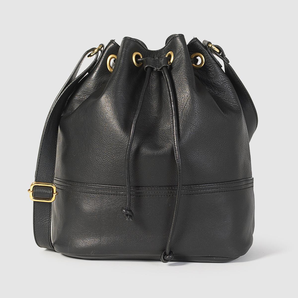 Сумка-мешокПреимущества : идеальная сумка для прогулок или работы благодаря своей практичности и утонченному аутентичному стилю.<br><br>Цвет: черный