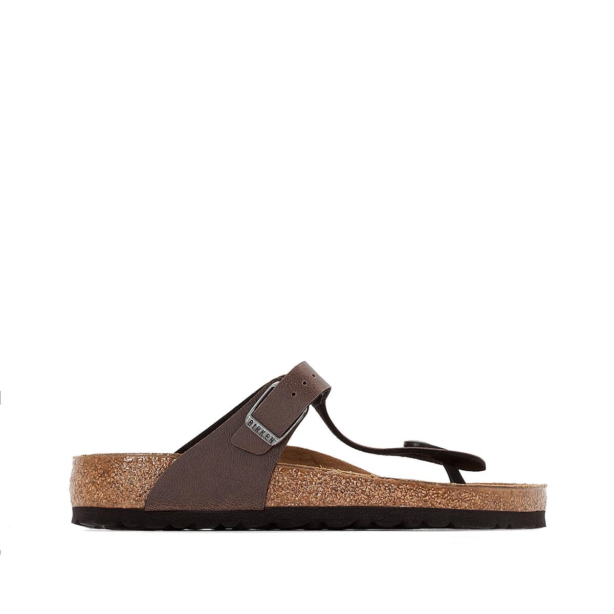 Туфли без задника с эффектом пуллап GIZEH