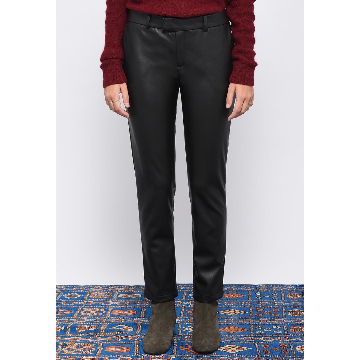 Брюки узкие с пропиткой джинсы узкие leon sc079 indigo knit