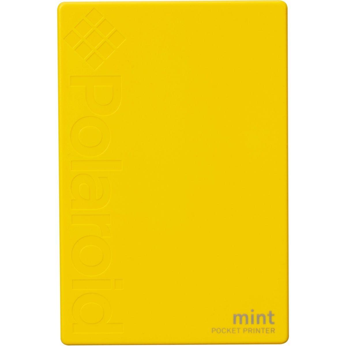 Polaroid Mint Imprimante Jaune