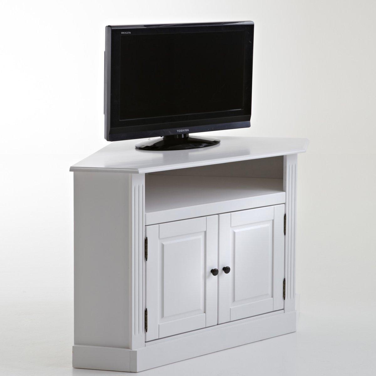 ТВ-тумба угловая из массива сосны, Authentic Style