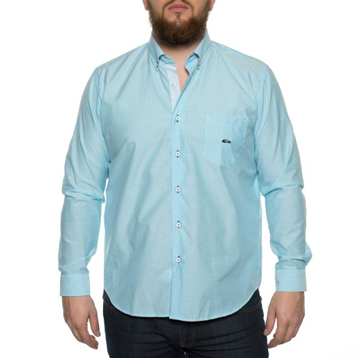 Chemise à Rayures en Coton