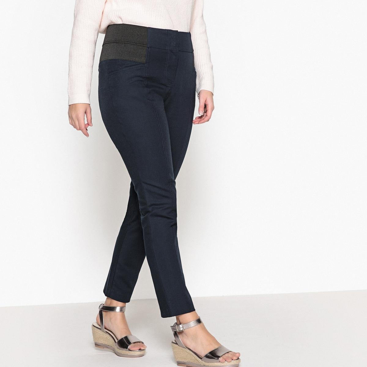 Брюки зауженныеТовар из коллекции больших размеров. Приятный материал, комфортный пояс… брюки, совершенствующие ваш силуэт! Еще более облегающий, комфортный и тянущийся материал, 97% хлопка и 3% эластана. Брюки не мнутся и прекрасно сидят. Высокий ультракомфортный пояс с 2 большими эластичными вставками по бокам моделирует силуэт и обеспечивает прекрасную посадку брюк. Застежка на молнию и крючок. Карманы спереди. Хитрость: швы спереди стройнят ноги! Длина по внутр.шву 78 см, ширина по низу 16 см. См.таблицу размеров Taillissime.<br><br>Цвет: синий морской,черный<br>Размер: 46 (FR) - 52 (RUS).44 (FR) - 50 (RUS).56 (FR) - 62 (RUS).54 (FR) - 60 (RUS).52 (FR) - 58 (RUS).58 (FR) - 64 (RUS).46 (FR) - 52 (RUS).44 (FR) - 50 (RUS).50 (FR) - 56 (RUS).54 (FR) - 60 (RUS).42 (FR) - 48 (RUS).58 (FR) - 64 (RUS).62 (FR) - 68 (RUS).50 (FR) - 56 (RUS).48 (FR) - 54 (RUS).60 (FR) - 66 (RUS).42 (FR) - 48 (RUS)