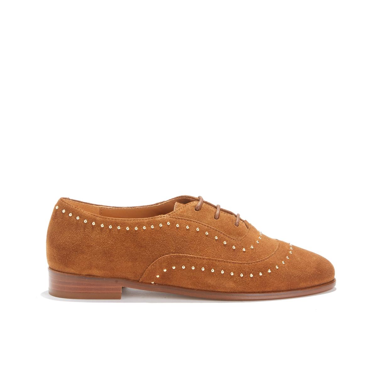 Ботинки-дерби кожаные LA POINTILLEUSE