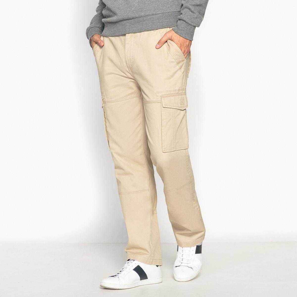 Pantaloni cargo regular puro cotone