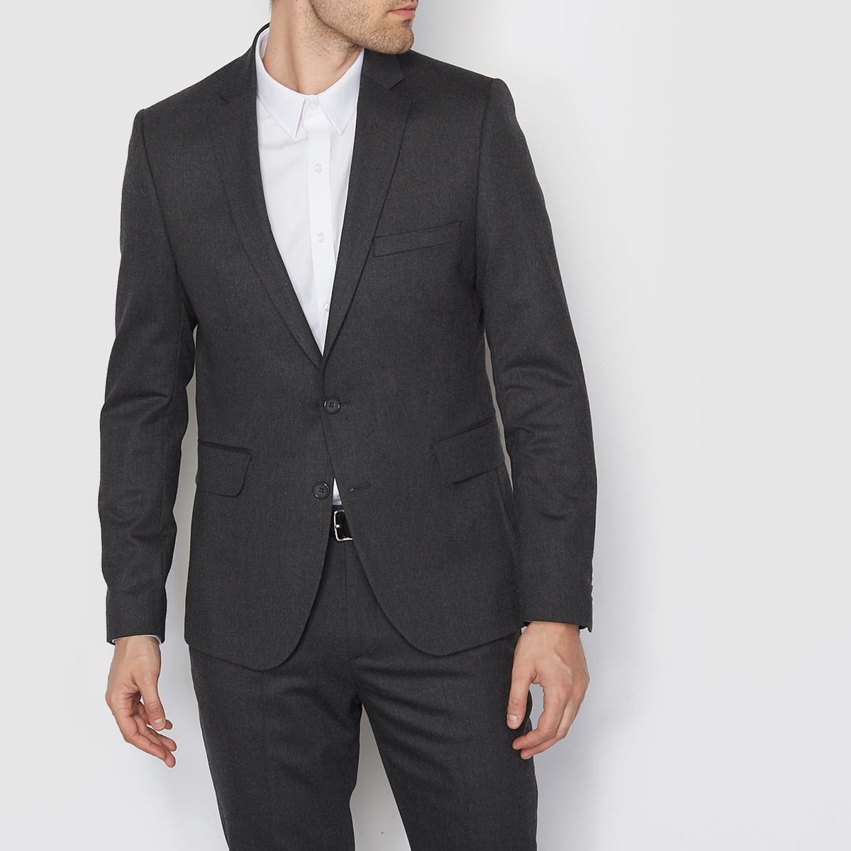 Костюмный пиджак прямого покроя