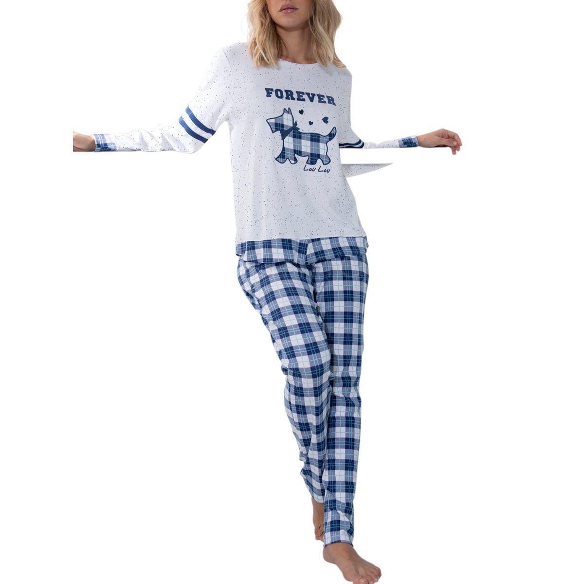 Pyjama pantalon manches longues Lou Lou Winter