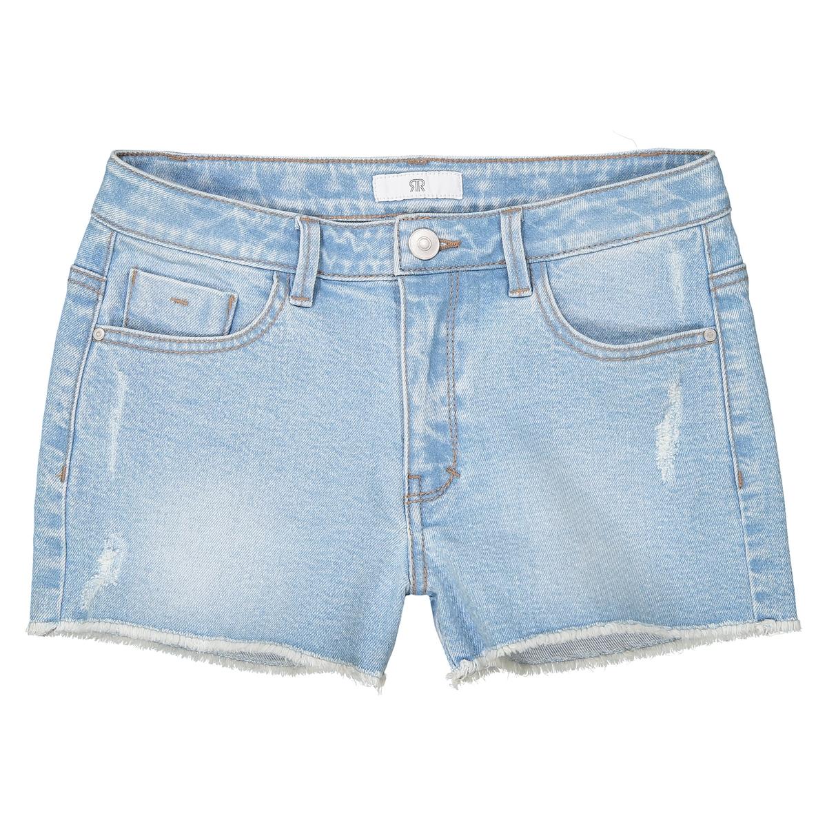 Shorts in denim destroy da 10 a 16 anni