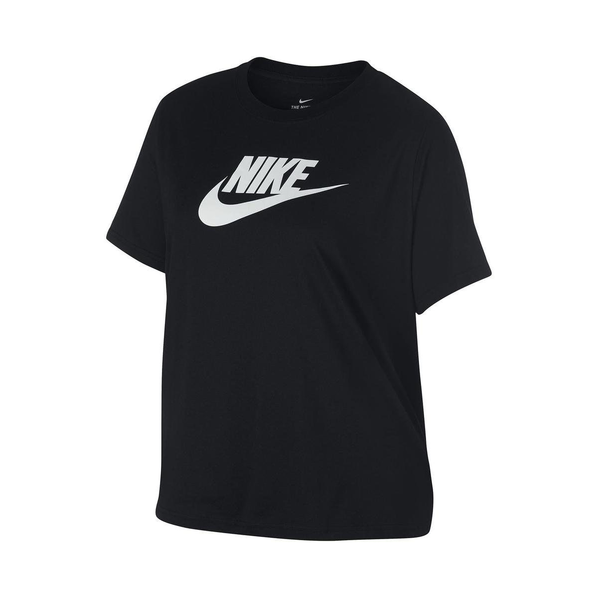 Imagen principal de producto de Camiseta con cuello redondo estampado y logotipo delante - Nike