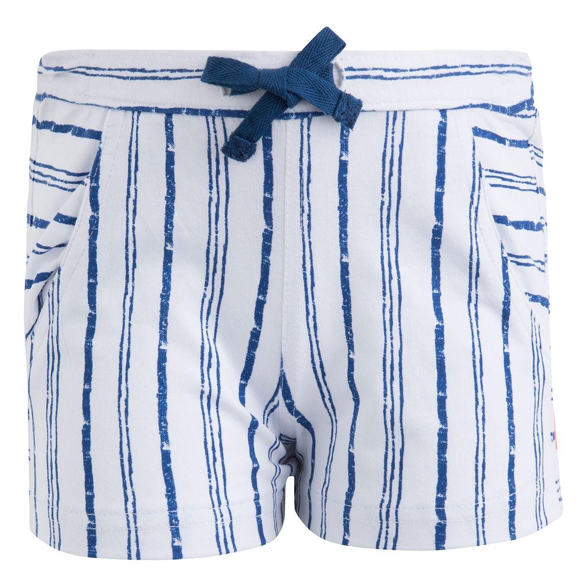 Short stripes fille