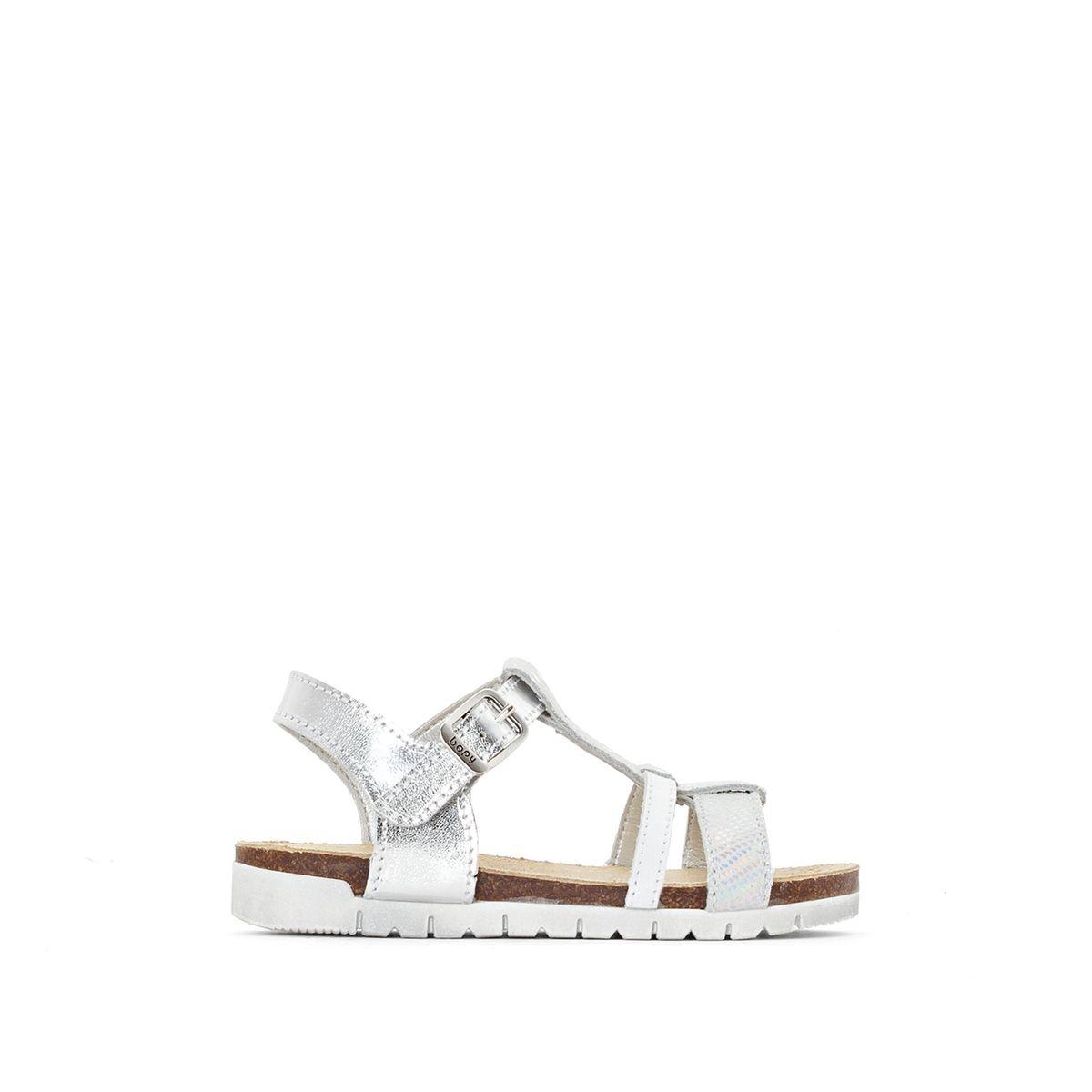 Sandales cuir irisées Eclo