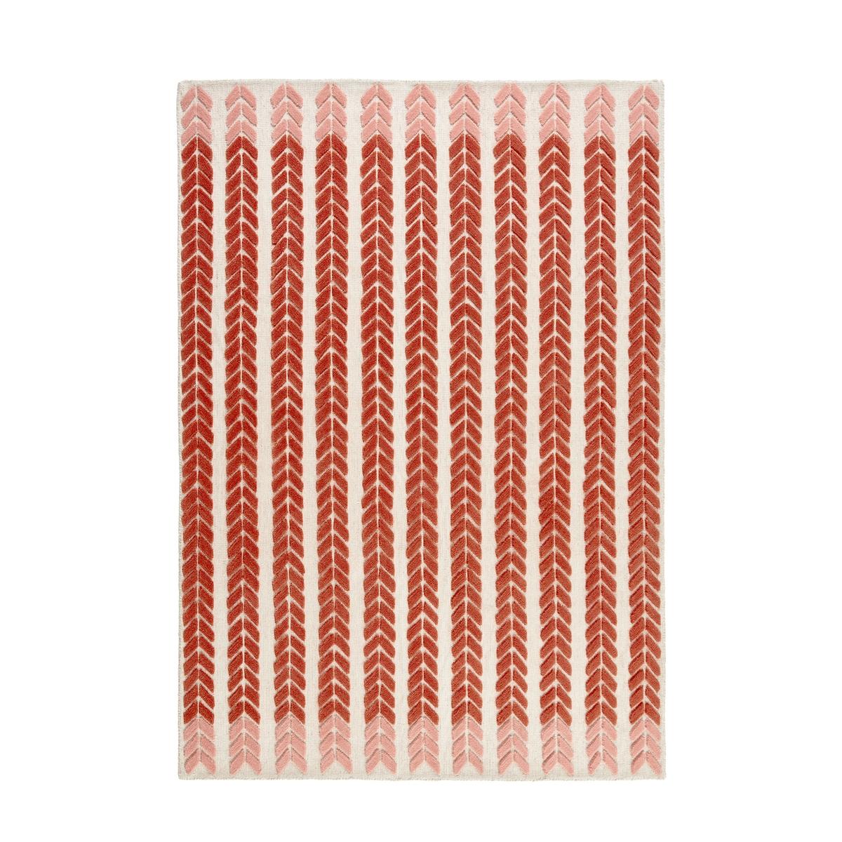 цена Ковер La Redoute Из шерсти 120 x 170 см розовый онлайн в 2017 году
