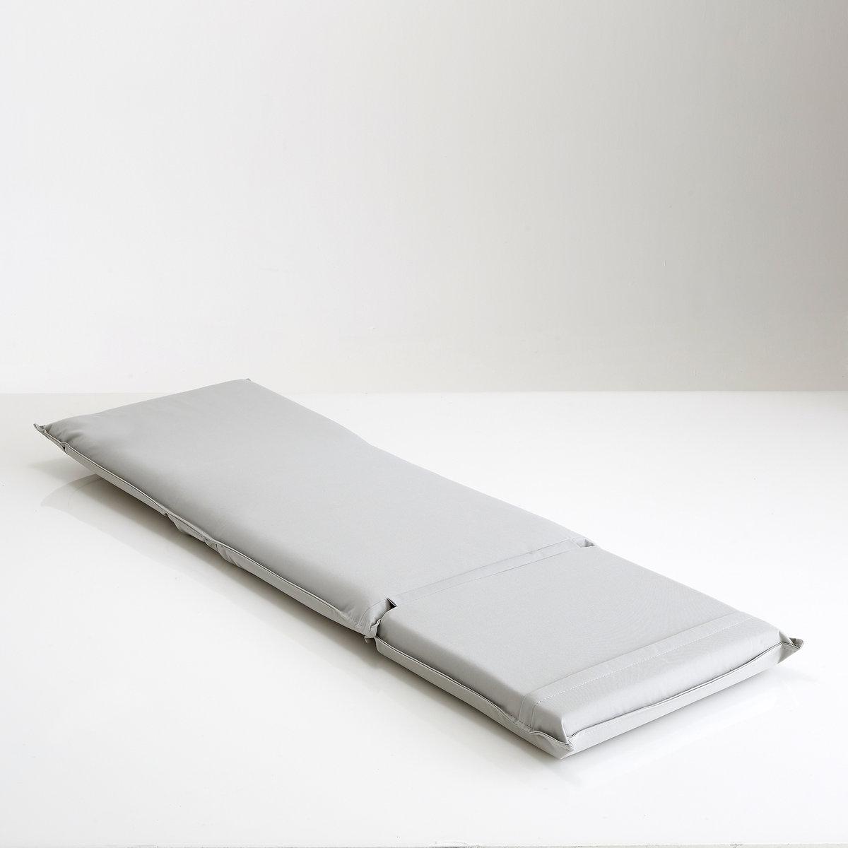Складной матрас для пляжа, BethМатрас для пляжа, 3 модных цвета. Идеален благодаря чехлу с ручкой... Для вашего максимального комфорта!Характеристики матраса для пляжа, Beth  :Защитный слой из полиуретановой пены 20 кг/м?.Покрытие из водостойкого полиэстера 600D.Матрас складывается в 3 раза, металлический фиксатор на спинке.5 возможных положений спинки + разложенное положение.Металлическая конструкция.Чехол с ручкой.Размеры матраса для пляжа, Beth  (в разложенном положении) :Ширина : 55 см (полезная ширина : 51 см).Высота : 9,5 см.Длина : 171 см.Размер и вес с упаковкой :1 упаковкаШир. 60 x Выс. 26 x Гл. 52 см.5,5 кг.Доставка :Матрас для пляжа Beth доставляется на дом по предварительной заявке, даже до квартиры !Внимание   ! Убедитесь, что посылку возможно доставить на дом, учитывая ее габариты.<br><br>Цвет: зеленый анис,синий<br>Размер: единый размер.единый размер