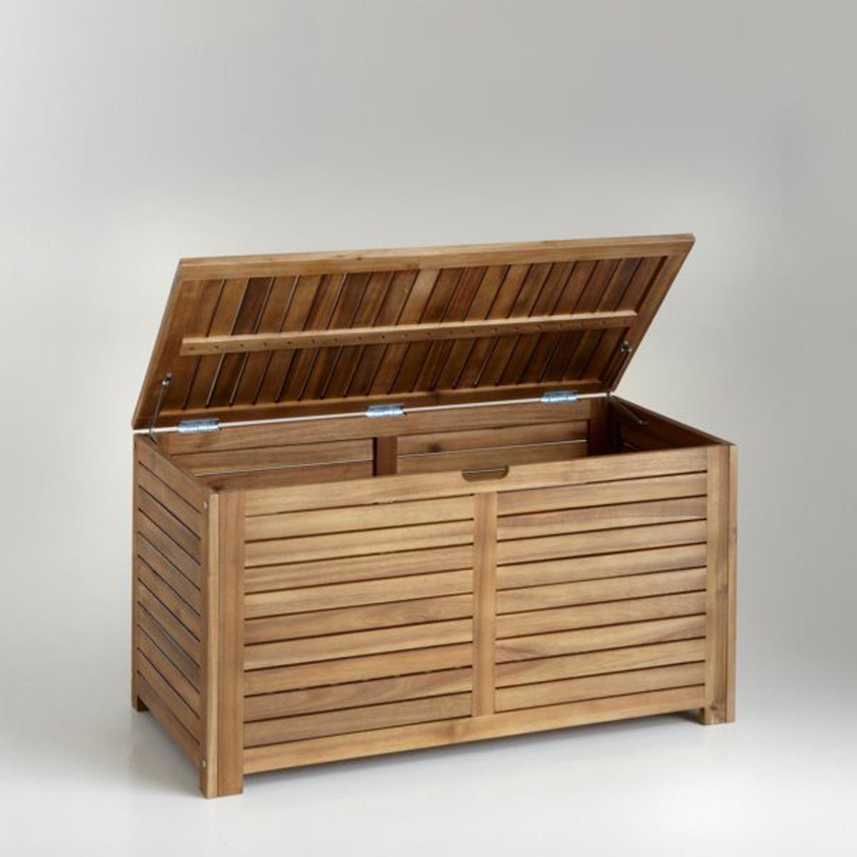 Ящик для вещей из акации Дл90 см от La Redoute