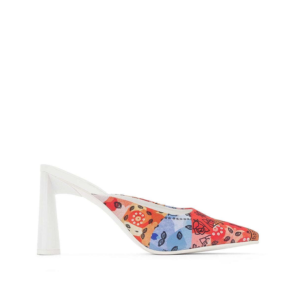 Туфли без задника тканевые от Amélie Pichard x La Redoute
