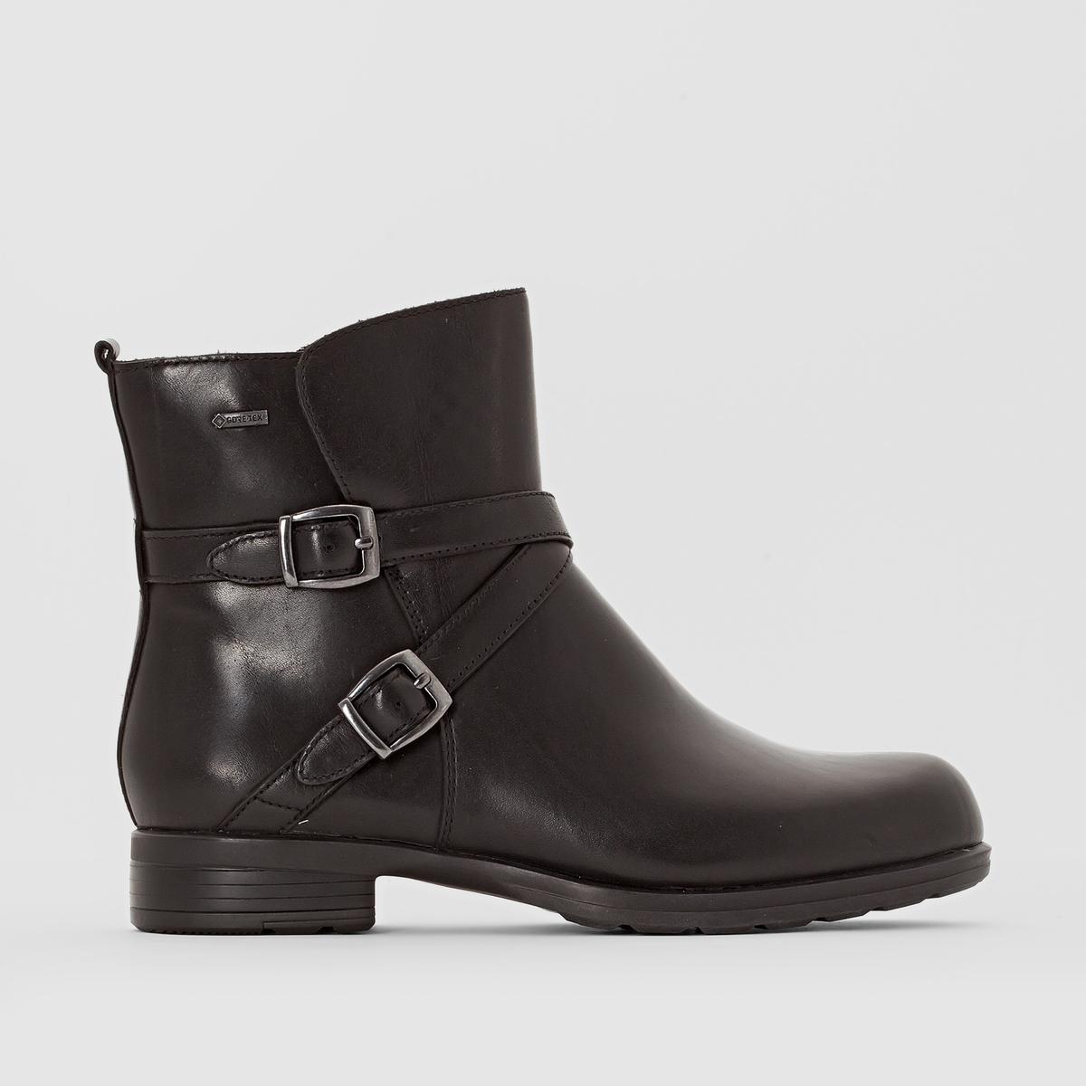 Ботинки кожаные Chesthuntbe