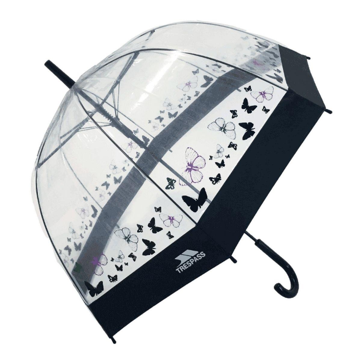 Parapluie transparent PAPILLON