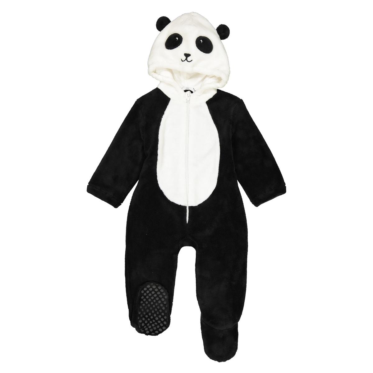 Пижама панда 1 мес - 3 лет La Redoute Collections