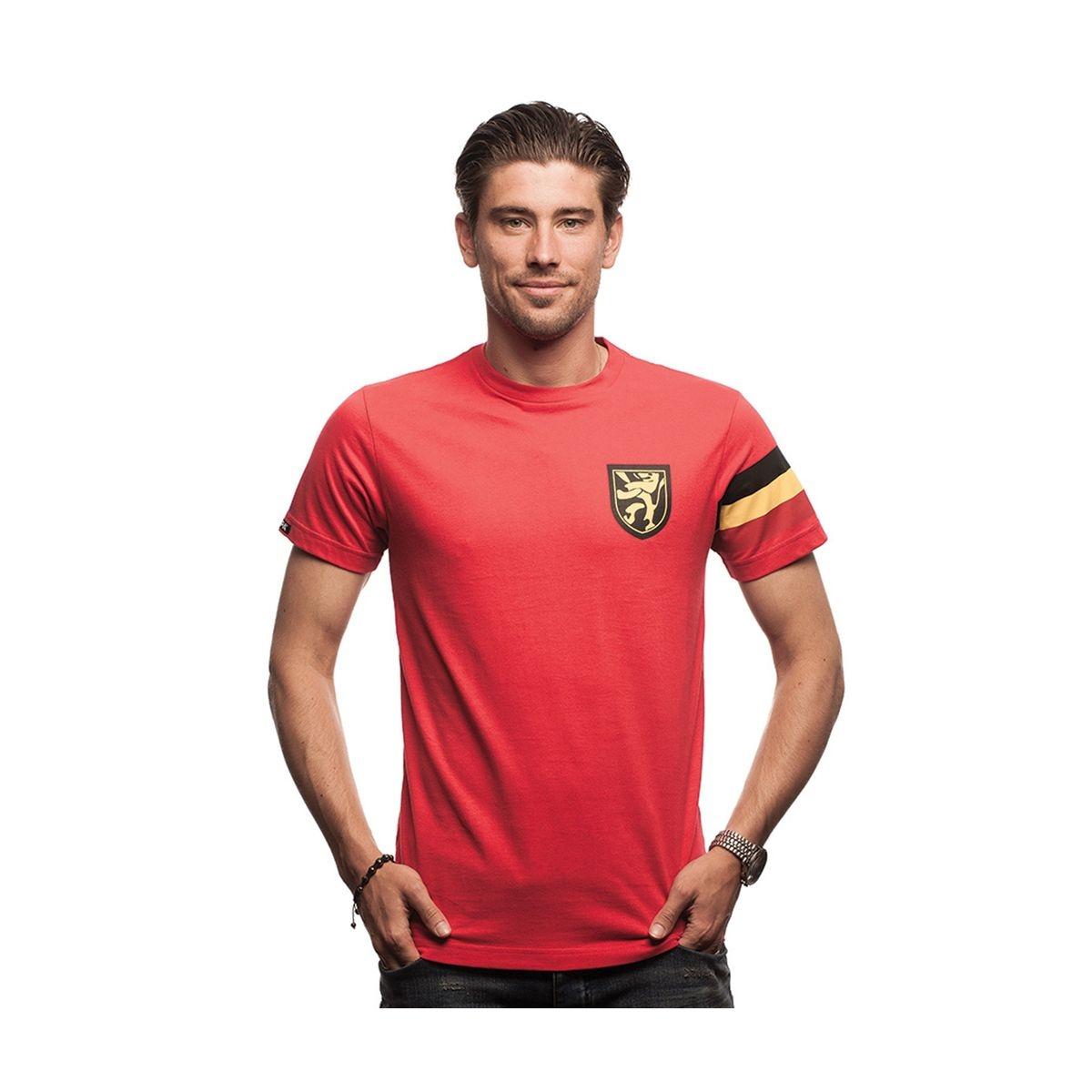 T-shirt Capitaine Belgique Rouge