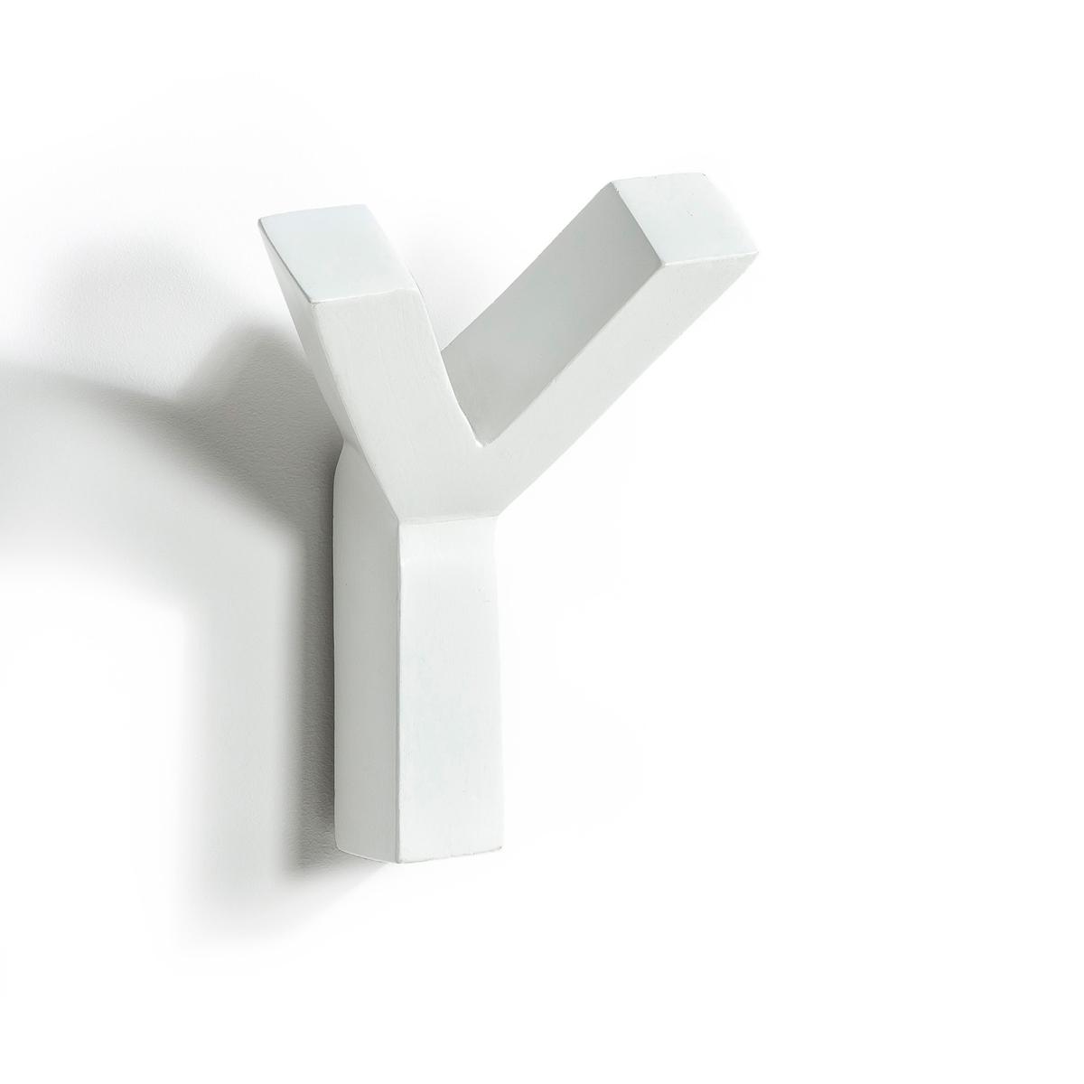 Вешалка настенная, Rama blancНастенная вешалка Rama. Простой графический дизайн в эстетическом скандинавском стиле   !Характеристики :- 2 крючка .- Из окрашенного массива мангового дерева.- Для крепления на стену (крепеж не продается отдельно).Размеры :- Ш.13 x В.15 x Г.6 см.<br><br>Цвет: белый<br>Размер: единый размер