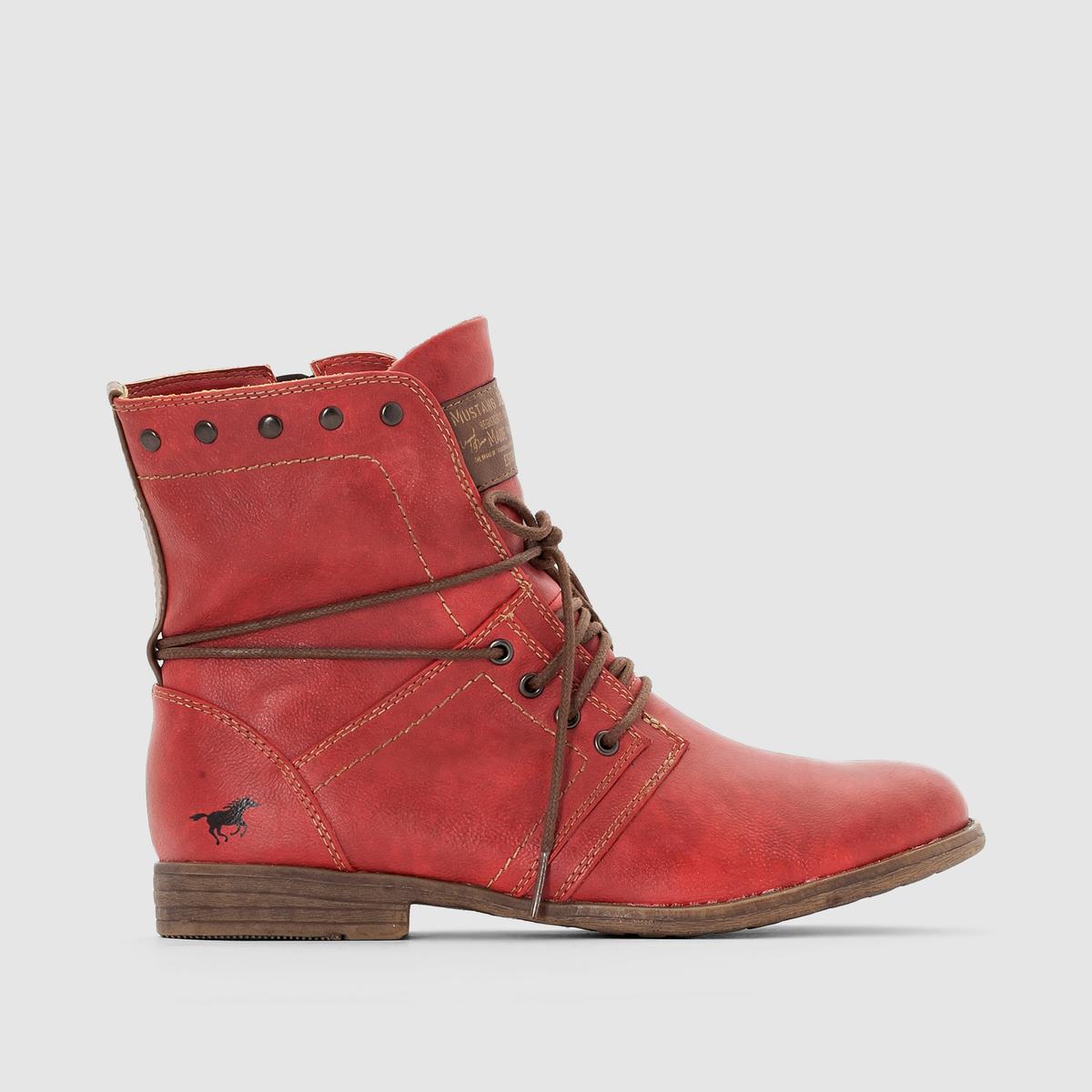 Ботинки на шнуровке от MUSTANG SHOES