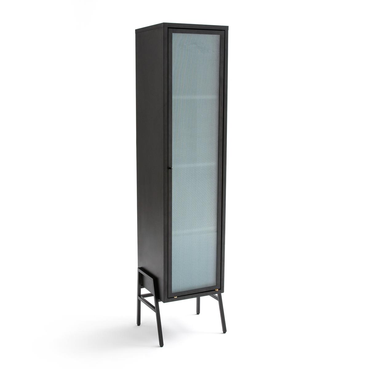 Шкаф с 1 дверцей из металла и стекла PODA джаннетт уоллс замок из стекла