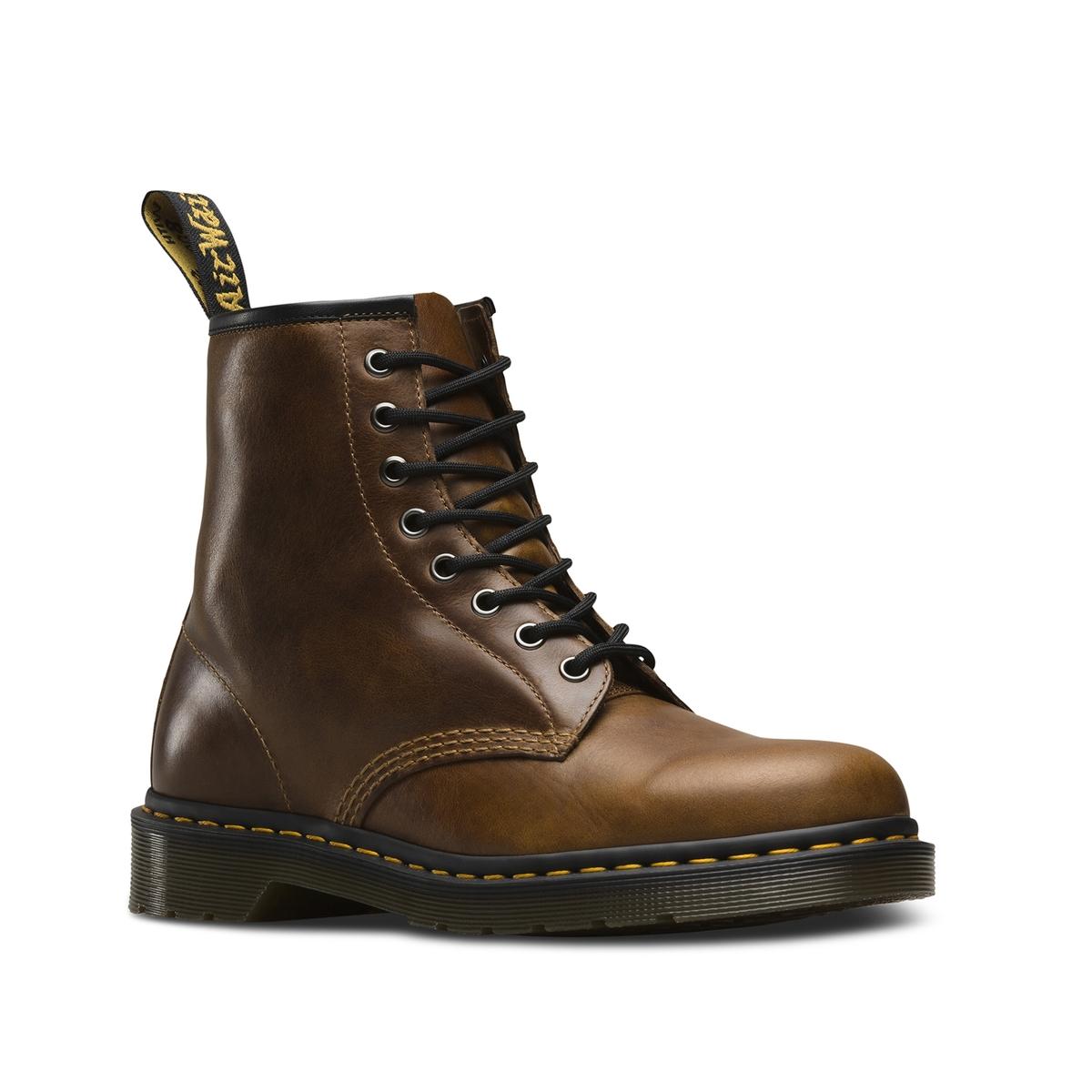 Lederschnürboots 1460 | Schuhe > Boots > Boots | Braun | Pu | DR MARTENS