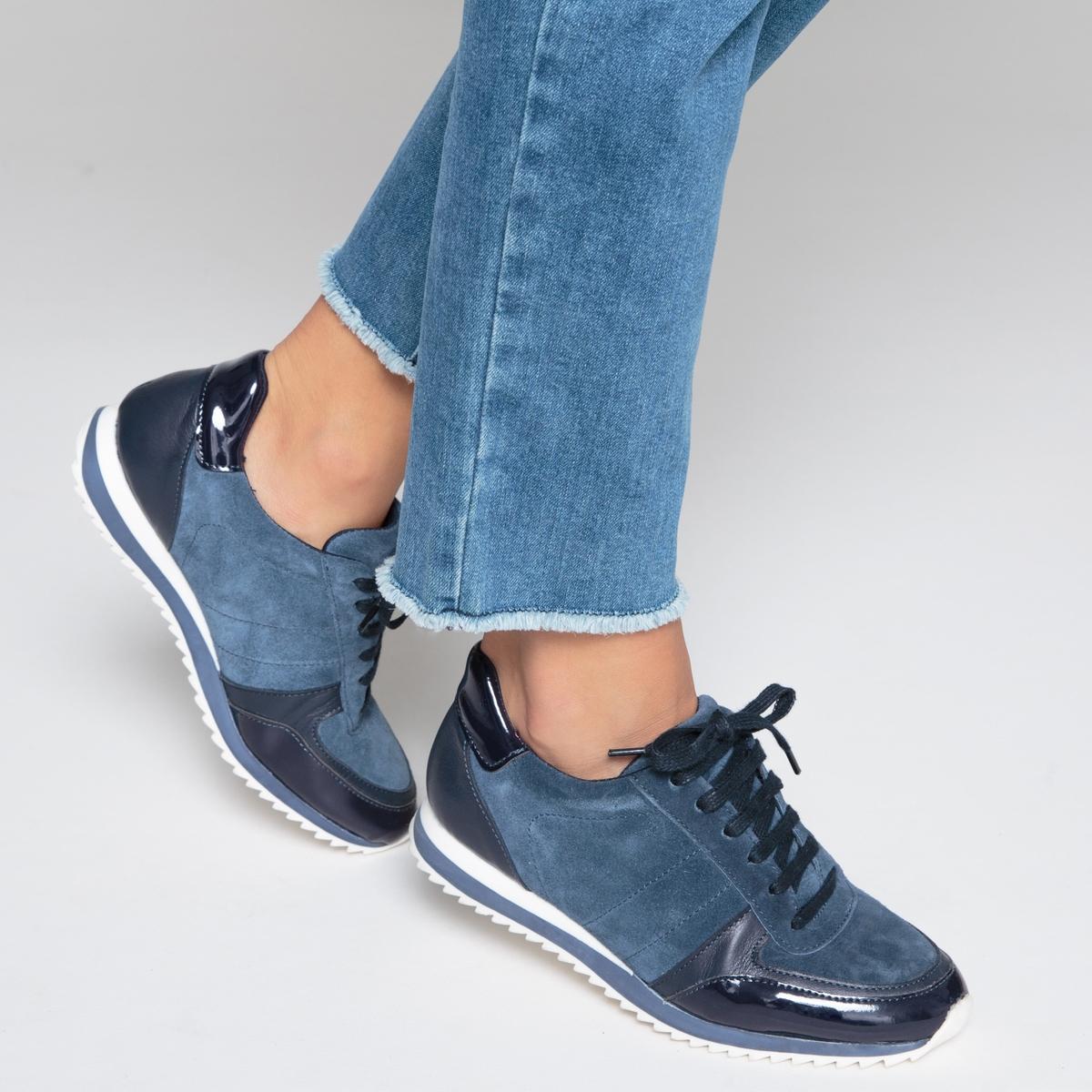 Кеды кожаныеДетали  •  Спортивный стиль •  Плоский каблук •  Высота каблука : 0 см •  Застежка : шнуровка •  Гладкая отделкаСостав и уход  •  Верх 100% кожа •  Подкладка 100% текстиль •  Стелька 100% текстиль •  Подошва 100% эластомер<br><br>Цвет: бордовый,синий морской<br>Размер: 37.36.38.39.41.40.37.36.41