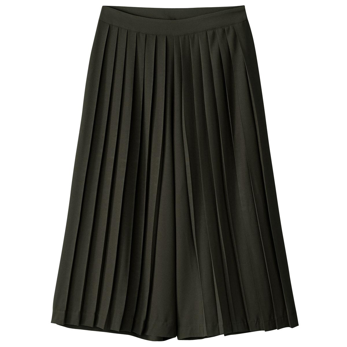Pantaloni a pinocchietto larghi plissé