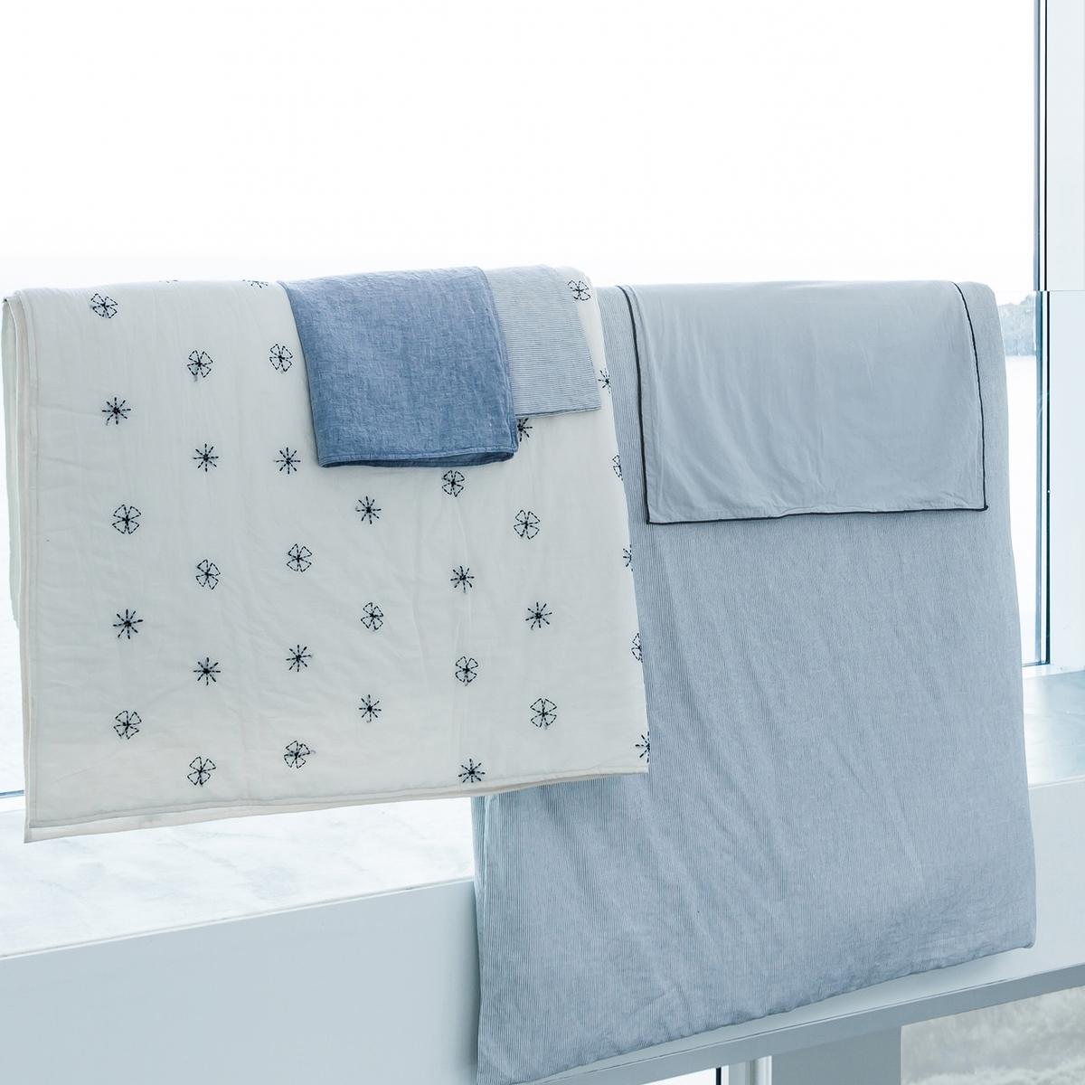 Fronha de almofada em cambraia de linho lavado, Elina cambraia