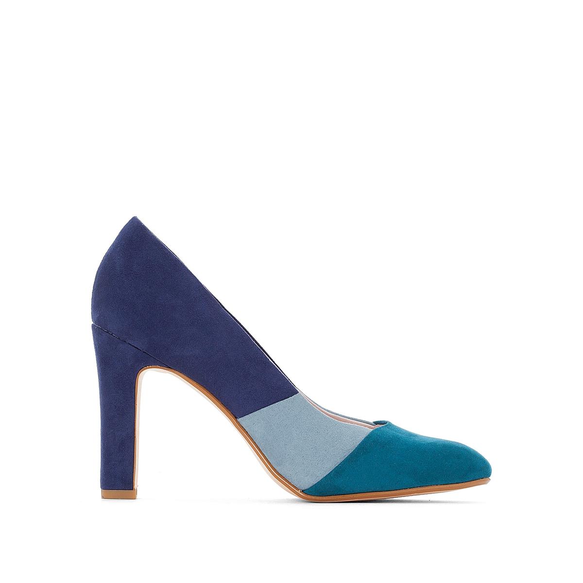 цена на Туфли трехцветные