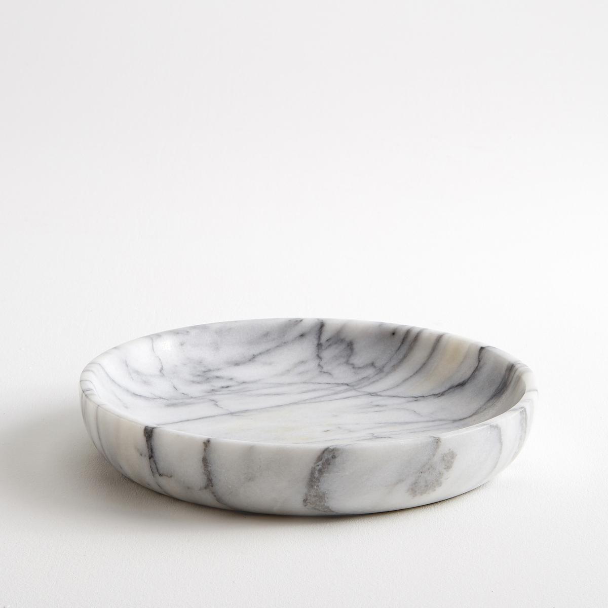 Чаша из мрамора ?25 см, Ks?niaЧаша из настоящего мрамора .           Простой предмет декора, который можно использовать просто так или как монетницу, мрамор красиво переливается.           Диаметр 25 см. Высота 4 см.<br><br>Цвет: мраморный,черный