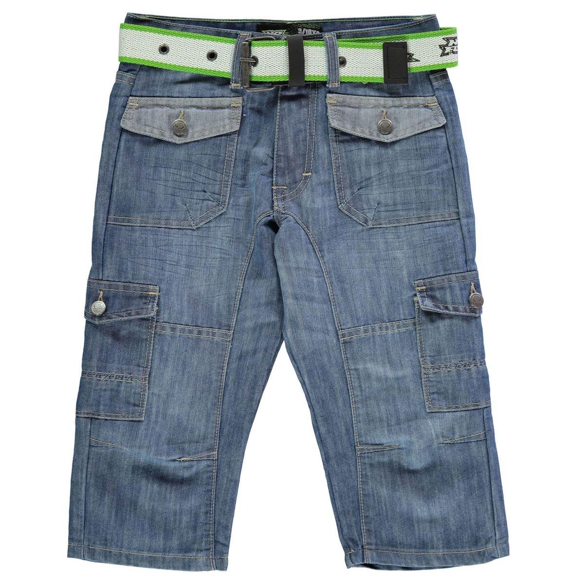 Short en jean denim